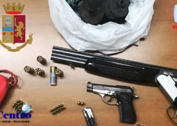 Rione Traiano: sequestrate 263 cartucce di munizioni e 143 gr di droga