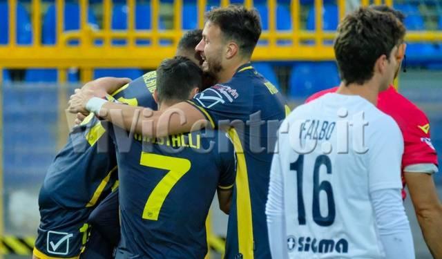 Juve Stabia 2 Viterbese 0