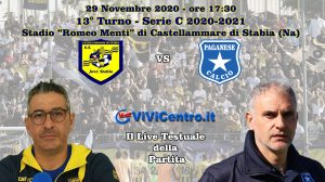 Juve Stabia - Paganese LIVE