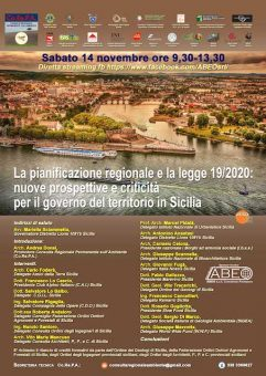 Co.Re.P.A. Incontro sulla riforma urbanistica regionale n° 19/2020