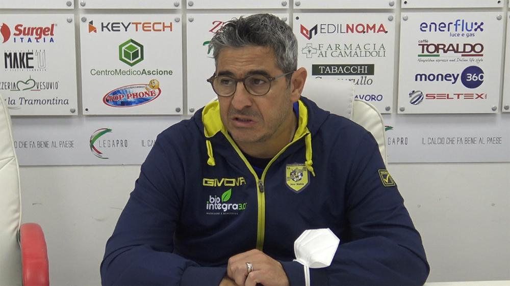Pasquale Padalino Turris Juve Stabia Serie C 2020-2021