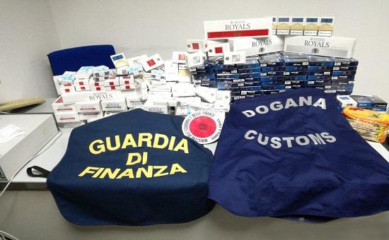Sequestrati al Porto di Palermo oltre 10 kg di tabacchi esteri