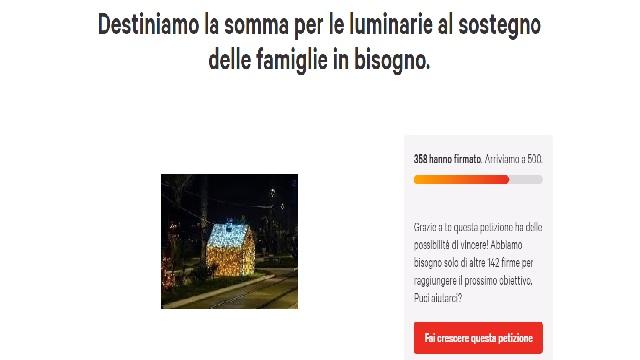Tra idealismo e pragmatismo: luminarie a Castellammare