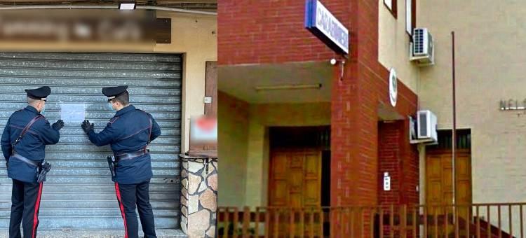 È accaduto a Villafrati ove un bar aveva abbassato la saracinesca ma senza fare i conti con i Carabinieri