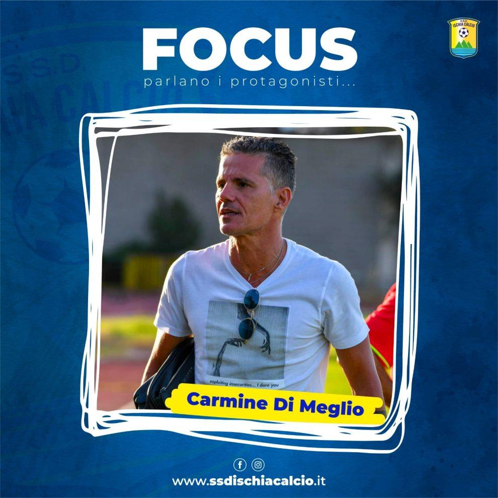 """Ischia-Carmine Di Meglio: """"Non molliamo, dobbiamo tenere duro"""""""
