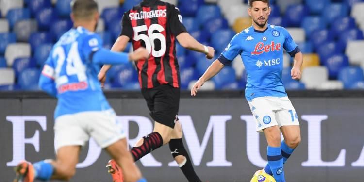 Dries Mertens - Credit foto: Twitter SSC Napoli