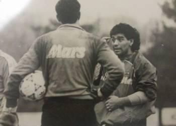 """Pino Taglialatela: """"Ciao Diego, ti porterò sempre nel mio cuore"""""""