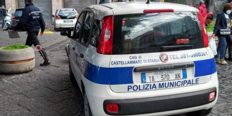 pugno duro polizia municipale castellammare foto free controlli cimmino