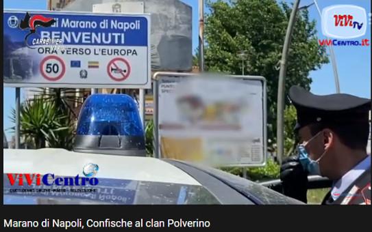 Marano di Napoli: confische al clan Polverino