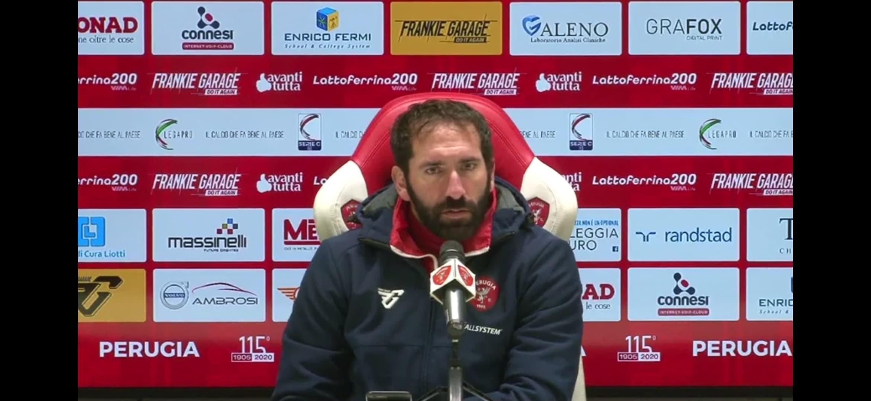 Fabio Caserta - Allenatore Perugia Calcio -