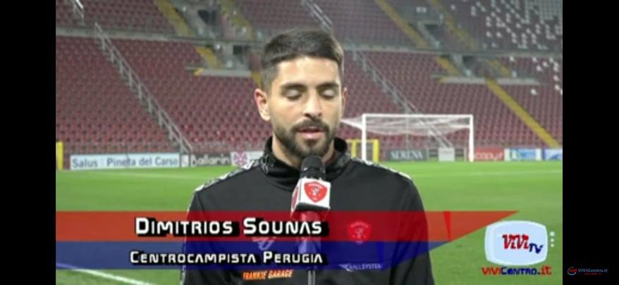 Dimitrios Sounas - Centrocampista Perugia -