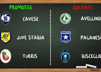 Serie C Gir.C, promosse e bocciate 16a giornata