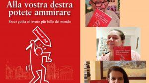 Alla vostra destra potete ammirare, di Nicola Camarda, Cristina ed Elena Mevio