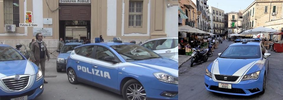 La Polizia di Palermo li ha arrestati nel centro storico cittadino