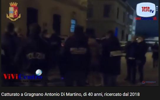 Arresto del boss Di Martino