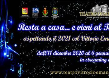 Aspettando il 2021 con il Teatro Vittorio Emanuele di Messina