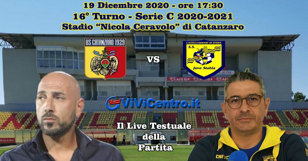 Catanzaro Juve Stabia LIVE