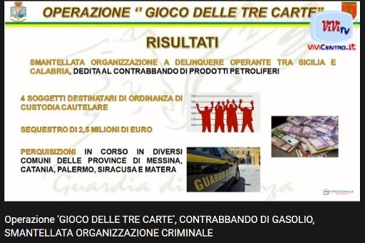 Il Comando GdF di Messina ha smantellato un contrabbando di gasolio
