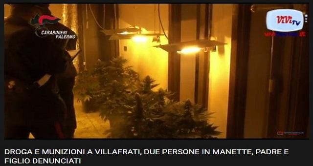 Sono stati arrestati dai Carabinieri di Misilmeri