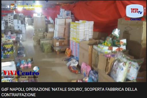 Guardia di Finanza Napoli, scoperta fabbrica della contraffazione