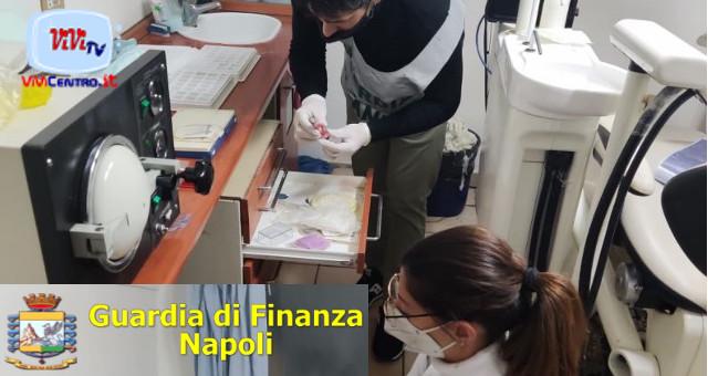 Guardia di Finanza Napoli, scoperto falso dentista evasore totale