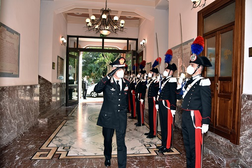 Saluto di commiato del Comandante Generale dell'Arma