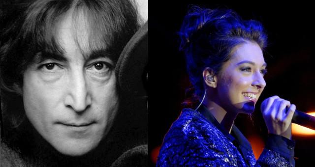 John Lennon e Christina Grimmie