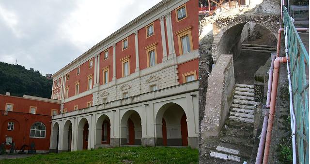 L'acquedotto sulla collina di Castellammare