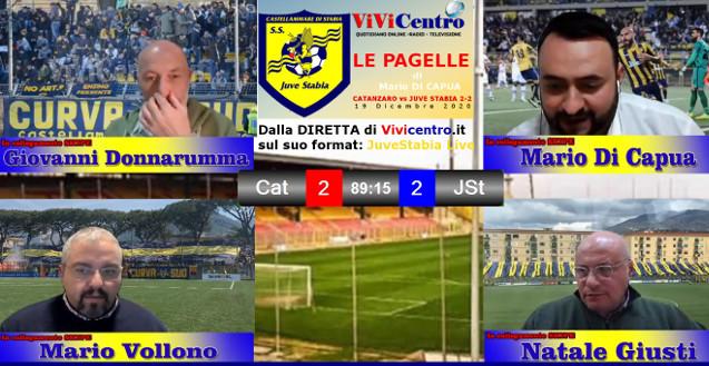 Le pagelle di Catanzaro vs Juve Stabia 19-12-20