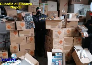 Operazione Capodanno sicuro: sventato commercio illegale di botti