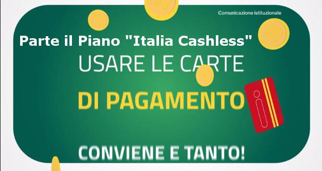 Parte il Piano Italia Cashless, ogni spesa può diventare un guadagno
