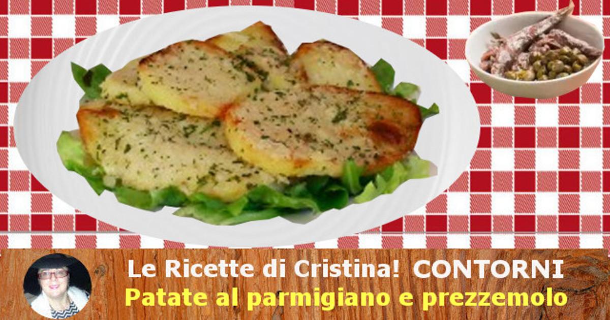 Patate al parmigiano e prezzemolo