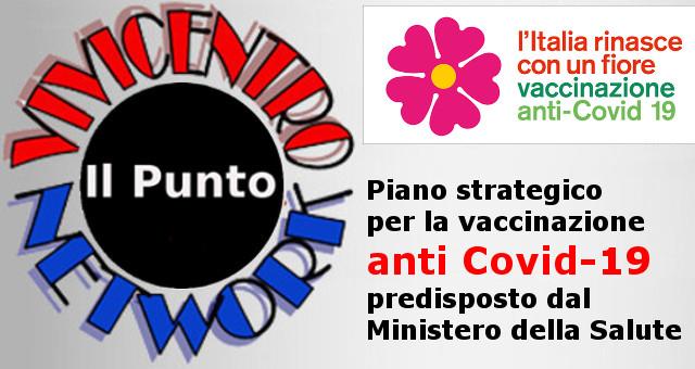 Piano strategico per la vaccinazione anti Covid-19 predisposto dal Ministero della Salute