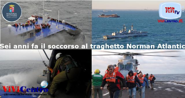 Sei anni fa il soccorso al traghetto Norman Atlantic