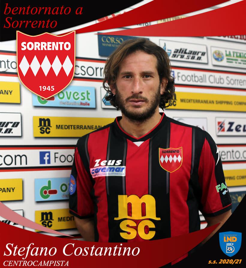Calciomercato Sorrento: Stefano Costantino