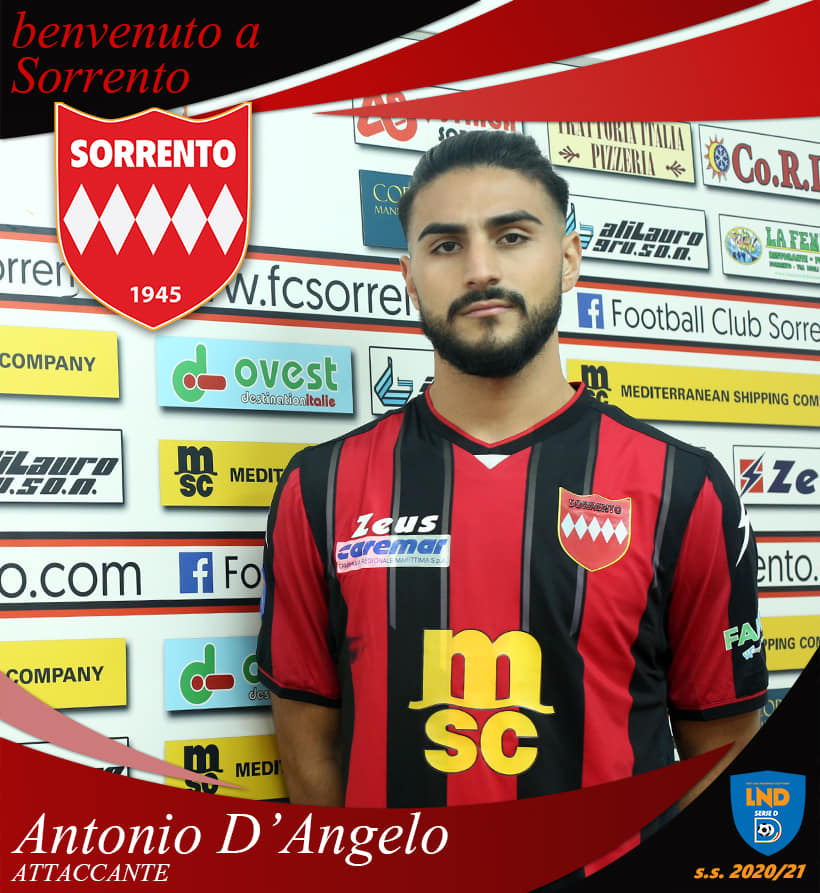 Calciomercato Sorrento: Antonio D'Angelo