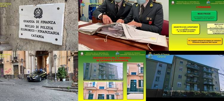 La sottrazione è stata scoperta dalla Guardia di Finanza di Catania