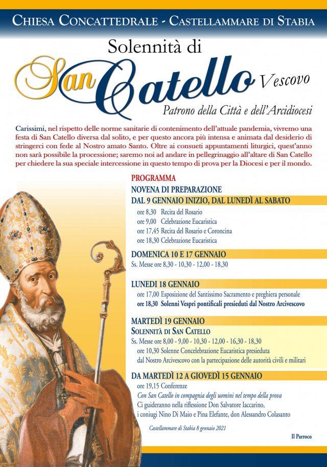 Castellammare di Stabia: no processione per celebrare il Santo Patrono