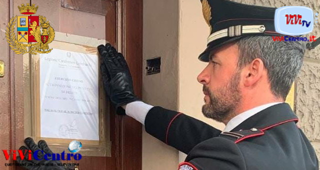 Carabinieri Brescia, Chiusura esercizio pubblico