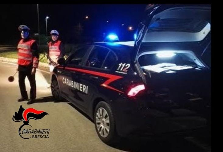 Carabinieri Brescia, controlli a Gardone Val Trompia