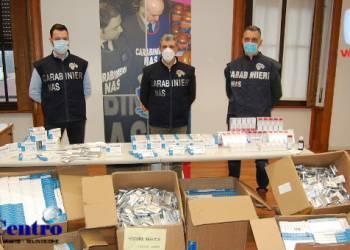 Carabinieri dei NAS, sequestro di oltre 64.000 farmaci cinesi illegali per la cura del covid-19