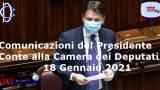 Comunicazioni del Presidente Conte alla Camera dei Deputati - VIDEOdei Deputati, 18 Gennaio 2021