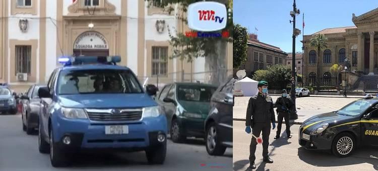 Confiscati dalla Polizia di Stato di Palermo