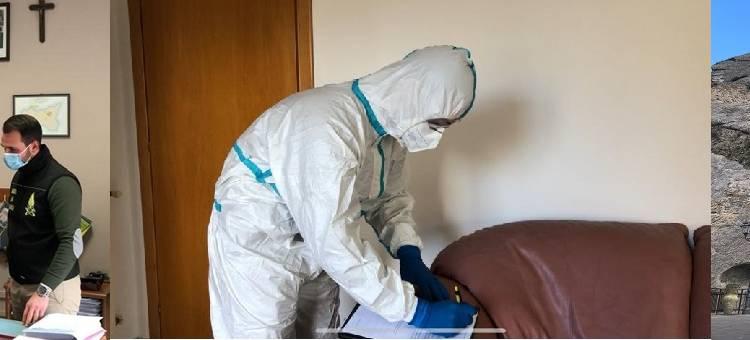 La GdF di Nicosia (En) ha seguito le perquisizioni a Capizzi (ME) dopo l'aumento di contagi