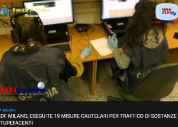 GDF DI MILANO, ESEGUITE 19 MISURE CAUTELARI PER TRAFFICO DI SOSTANZE STUPEFACENTI