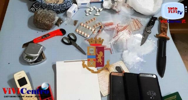 Napoli: Polizia arresta due spacciatori a Porta Nolana