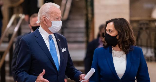 Joseph Biden Jr. e Kamala Harris (foto da Casa Bianca)