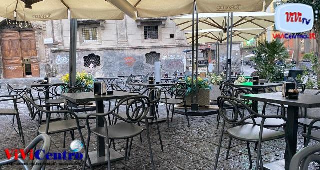 La mattina di Napoli nel primo giorno di zona gialla dopo mesi