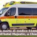 Misteriosa morte di medico 51enne in una stanza dell'hotel Majestic, a Chiaia, Napoli