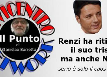 Renzi ha ritirato il suo tris, ma anche NO